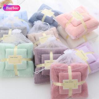 Khăn tắm Bbr chất liệu dày dặn mềm mại không phai màu xù lông, thấm hút tốt - INTL thumbnail