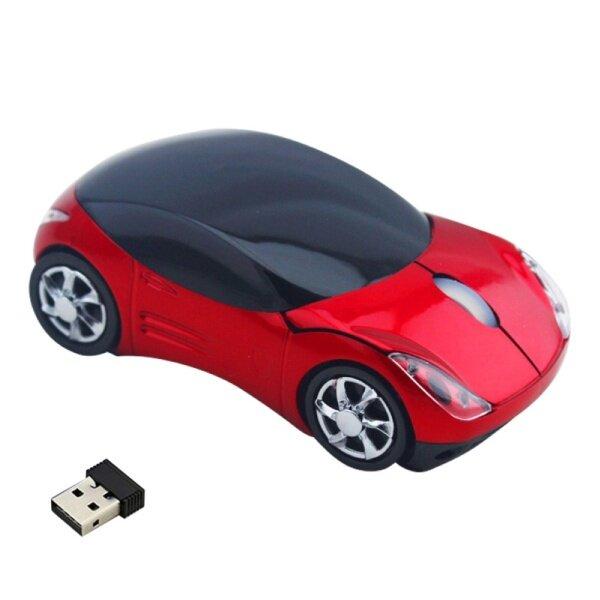 Bảng giá Không Gian Ấm Cúng Xe Thể Thao Hình Dạng 3 Phím 1000 Dpi 2.4G Chuột Quang Không Dây Bộ Thu USB Cho Máy Tính Xách Tay Phong Vũ