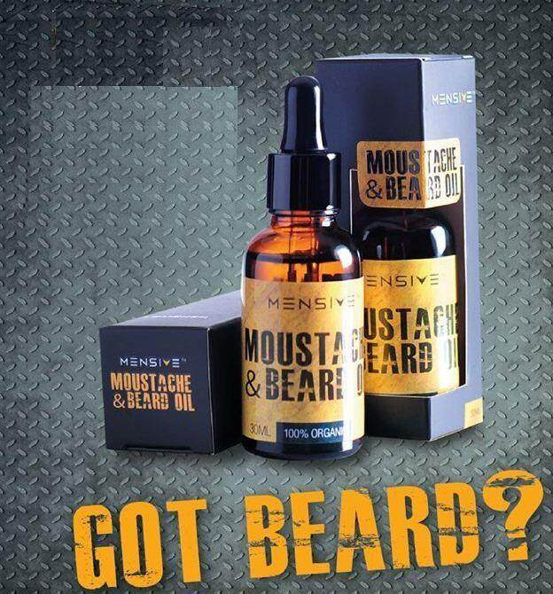 Mensive Moustache 30ml Dream Beard Oil (mbo) Malaya Beard Oil Upgraded !!! Misai Oil Serum (mbo) By Layer.