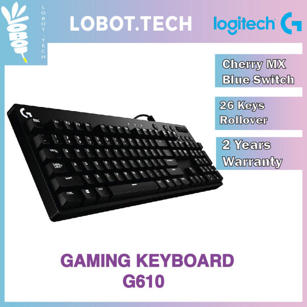 Logitech G610 Orion Blue Mechanical Gaming Keyboard Malaysia