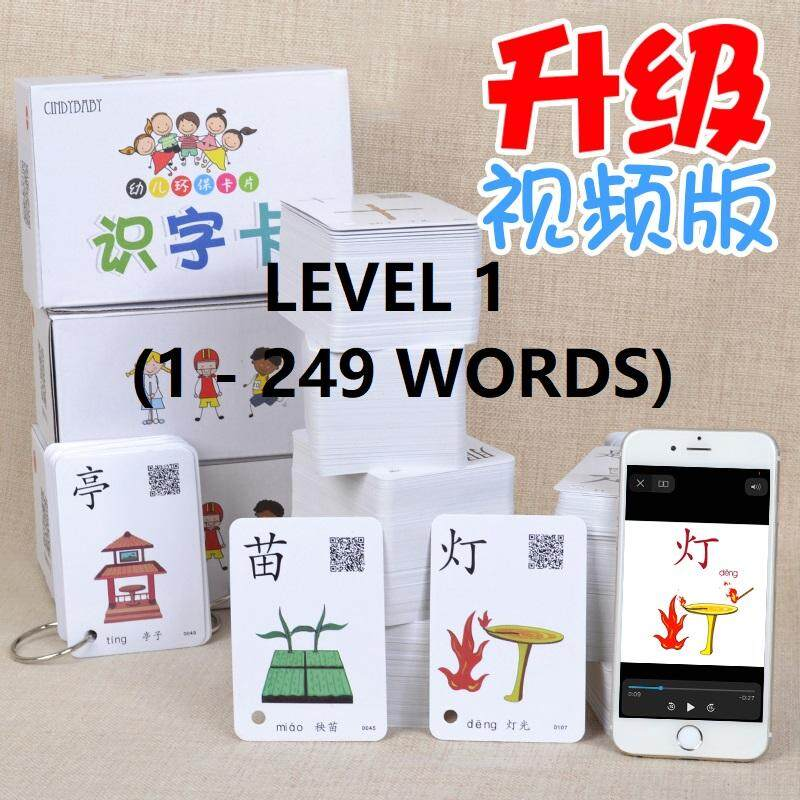 Brain Infographic Chinese Flash Card (level 1 To Level 5) By Happyshop0518.