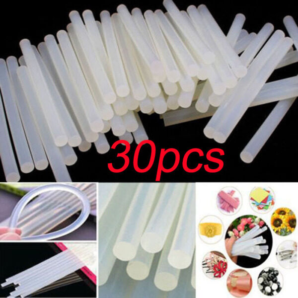 30PCS Home Supplies High Viscosity Wholesale Crafts Clear Adhesive for Electric Glue Gun Hot Melt Glue Sticks