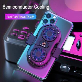 Bộ Tản Nhiệt Điện Thoại Di Động HOCE, Tản Nhiệt Điện Thoại Thông Dụng Chơi Game, Giá Đỡ Quạt Đôi Di Động Có Thể Điều Chỉnh, Tản Nhiệt Cho iPhone OPPO Vivo Realme thumbnail