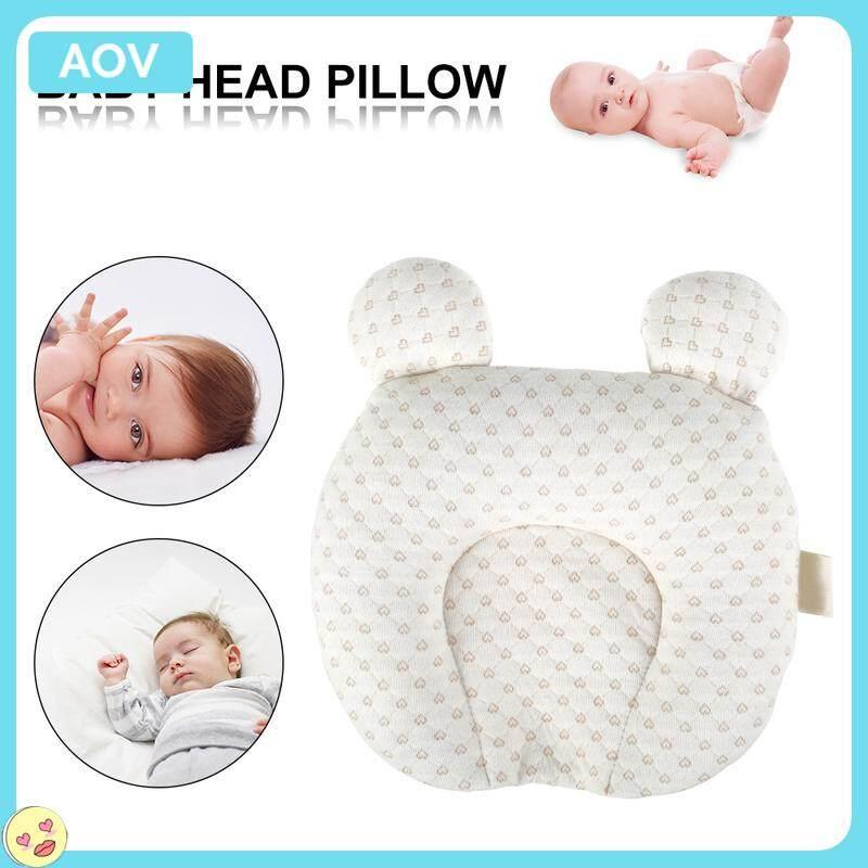 สบายผ้าฝ้ายบริสุทธิ์ทนทาน Soft Baby เนอสเซอรี่รองคอหัวหมอนทรง Unisex ทารกแรกเกิด Sleep Cushion Breathable