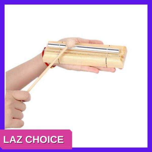 LAZ CHOICE Energy Chime Single Tone with Mallet Exquisite Kid Children Musical Toy Percussion Instrument (Dark Khaki) Malaysia
