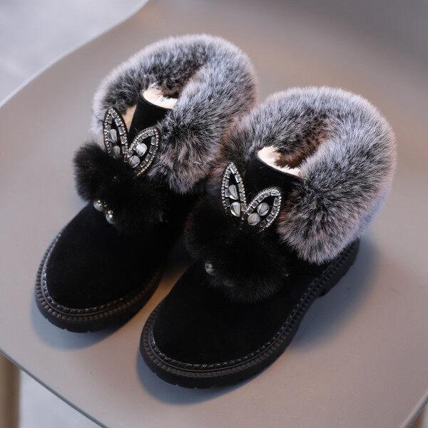 Giá bán Bốt Thể Thao Cho Trẻ Em Bé Gái Giày Cổ Cao Bốt Thường Ngày Cho Bé Gái Trẻ Nhỏ