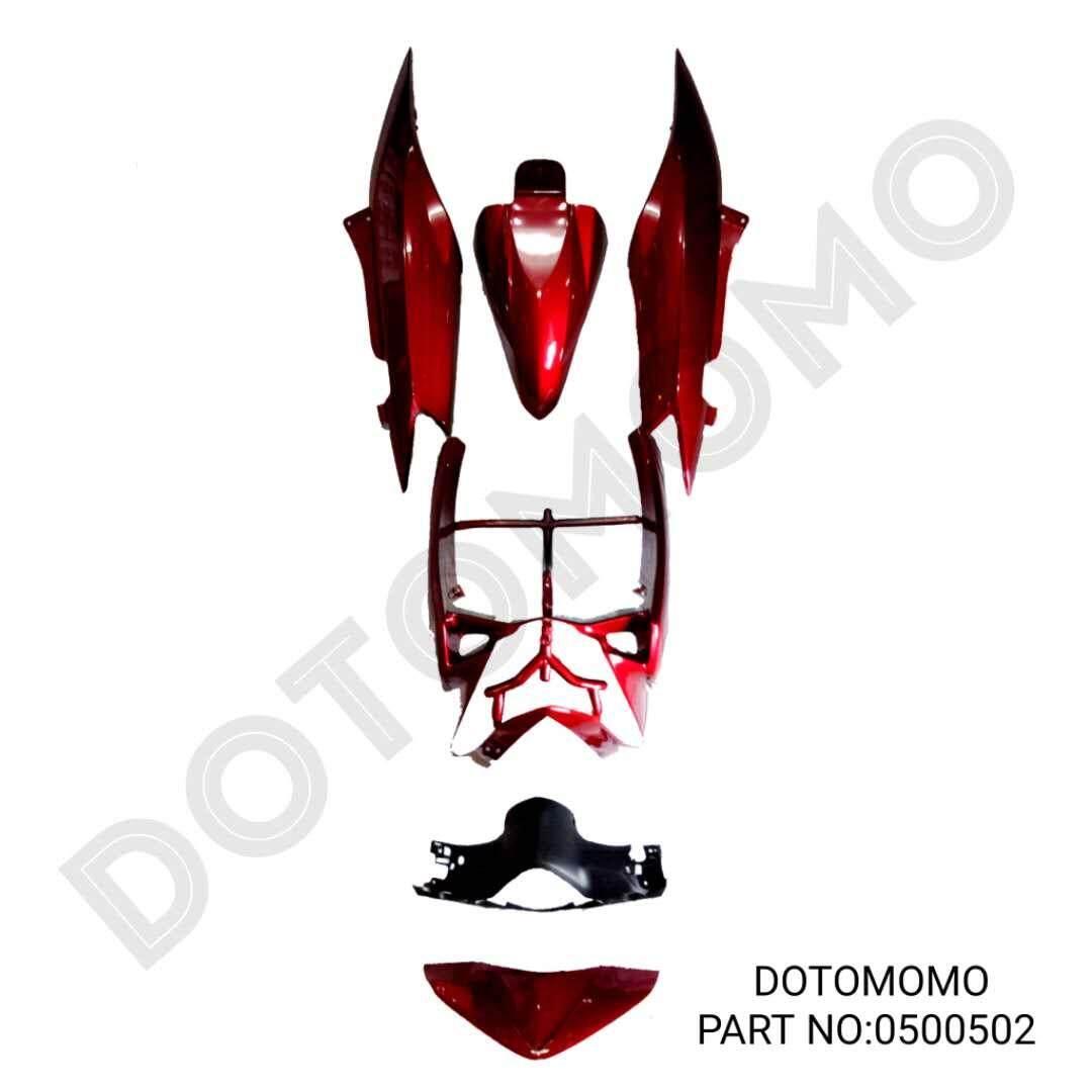 """EGO-S YAMAHA BODY COVER SET """"DOTOMOMO"""""""