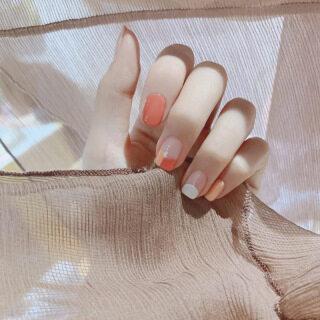 24 Chiếc Đầu Vuông Nối Màu Sáng Ngọt Ngào Dễ Thương, Móng Tay Giả Kiểu Ngắn, Trang Phục Hàng Ngày Thời Trang Quý Ông Móng Tay Trang Trí thumbnail