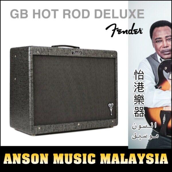 Fender George Benson Hot Rod Deluxe Guitar Tube Amplifier, 230V UK Malaysia