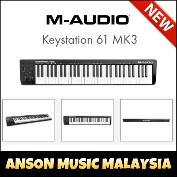 M-Audio Keystation 61 MK3 61-Key MIDI Controller (Keystation61 MK3) Malaysia