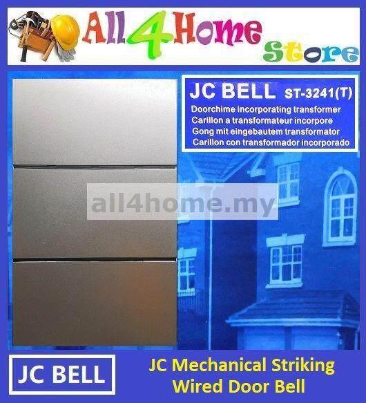 JC Mechanical Striking Wired Door Bell
