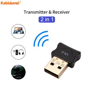 Kebidumei Bộ Chuyển Đổi Bluetooth USB 5.0, Bộ Thu Phát Âm Thanh Dongle Máy In Tai Nghe Cho Máy Tính PC thumbnail