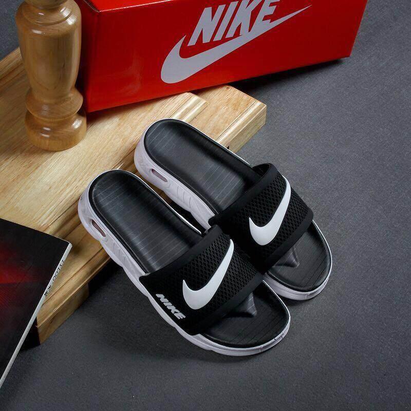 Sandal Nike Orisinil Musim Panas, Sandal Pria dan Wanita Modis, Sandal Menyegarkan