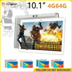 Kingslim 10.1 WIFI Bluetooth Kim Loại Android 9.0 Pad 2.5D Màn Hình HD Ram 4 Gam + 64 Gam Dual Camera 00