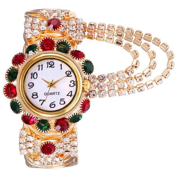 Tide joker web celebrity han edition leisure quartz watch fashion lady diamond-encrusted bracelet watch bracelet watch for women Malaysia
