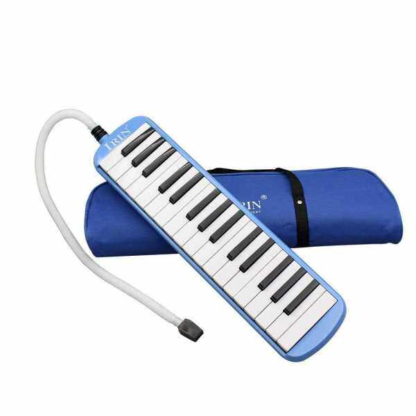 32 Piano Keys Melodica Musical Instrument for Music Lovers Beginners Gift with Carrying Bag (Blue) Malaysia