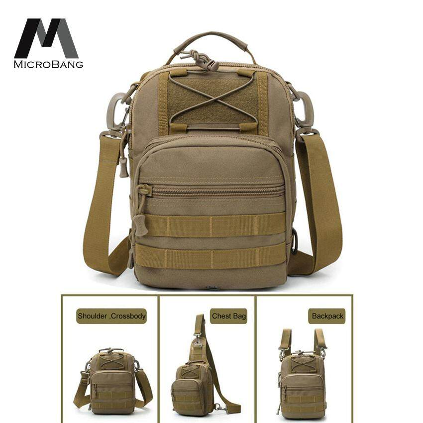 Unisex Nylon Crossbody Bags Military Travel Riding Cross Body Shoulder Backpack Men Messenger Pack Chest Bag Outdoor Bags 2018 Camping & Hiking Climbing Bags