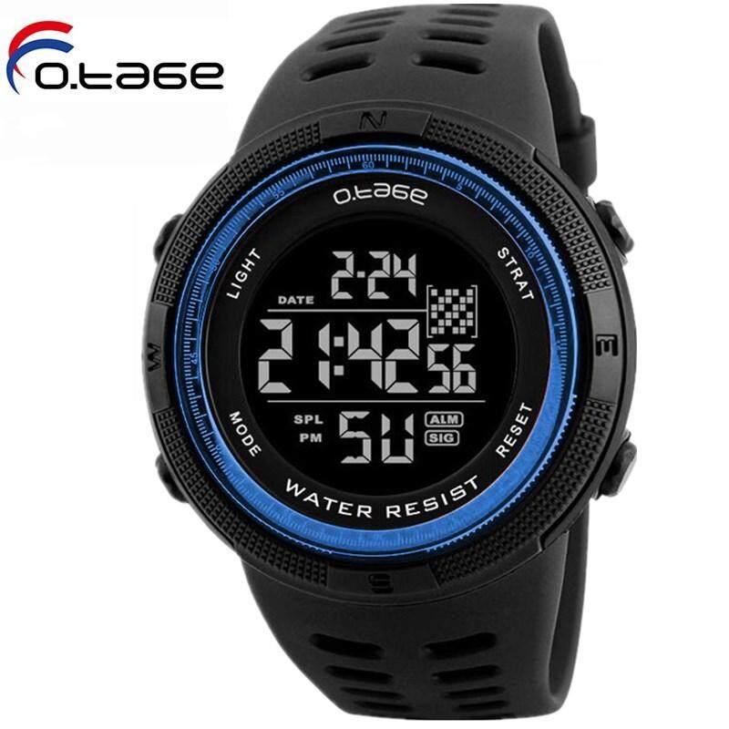 OTAGE brand mens sports watch, mens waterproof LED digital watch, military watch, mens watch, diving watch, waterproof 50M, cycling sports, outdoor watch Malaysia