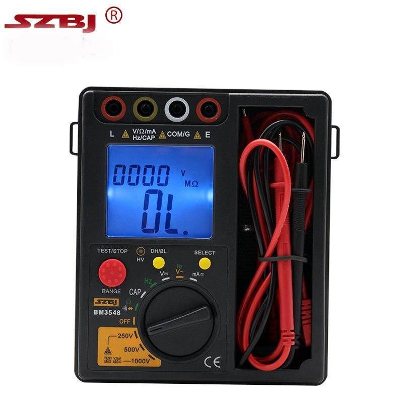 Best Sales Szbj Bm3548 Digital Insulation Resistance Test Meter Multimeter Ohm Tester By Carcool