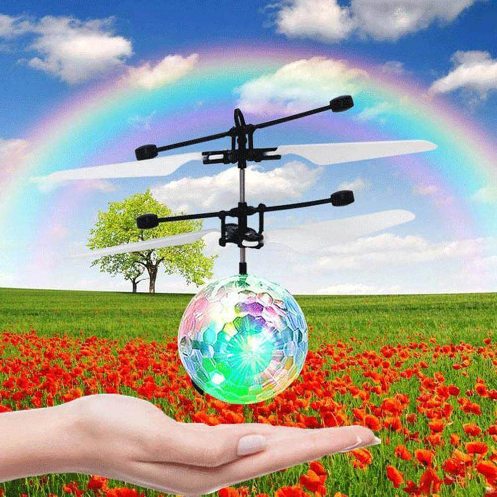Christmas Holiday Doll Electronic RC Control Toy Flying Flight Santa Fairy Ball