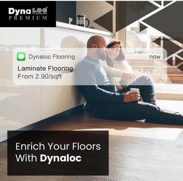 *READY STOCK* 8mm Laminate Flooring (8 Pieces) (20.50 sqft/box) (Dynaloc Flooring)
