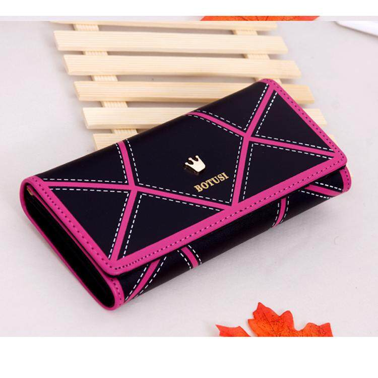 586b284fa285 Fashion PU Leather Women hasp Long Wallet Ladies Purse Female Wallets Purse  Card Holder coin cash