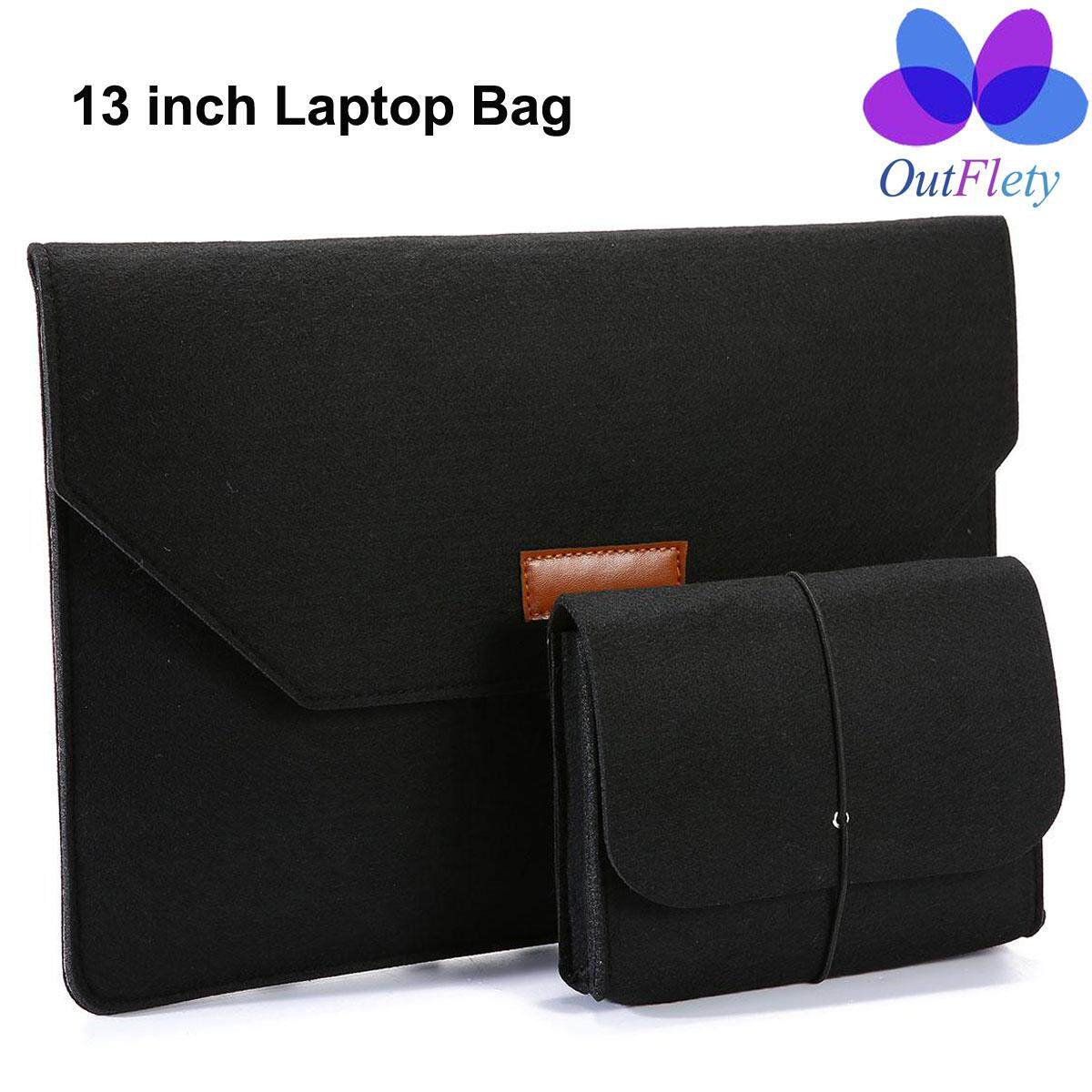 Outflety 13 Inch Sarung Laptop Pelindung Tahan Air Cover Kompatibel Mac Book Air/Retina MacBook Pro/12.9 Inch Ipad Pro/ ultrabook Netbook Membawa Kasus