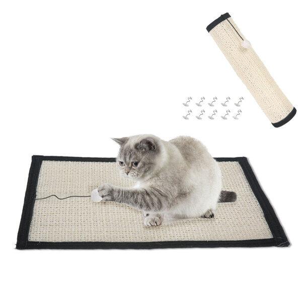Thảm Cào Cho Mèo Cưng Buddy Có Đinh, Chống Trượt Thảm Cho Mèo Salu Tự Nhiên, Thảm Ngủ Đồ Nội Thất Ghế Trường Kỷ Bàn Xung Quanh Bảo Vệ Đồ Nội Thất Và Ghế Sofa