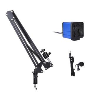 Webcam Máy Ảnh Ultra HD 1080P Webcam Máy Tính 8 Megapixel Lấy Nét Cố Định Góc Rộng 80 Độ Tự Động Lấy Nét Bù Phơi Sáng Tự Động Với Giá Đỡ Micrô Cắm Và Phát USB Cho Hội Nghị Video Giảng Dạy Trực Tuyến Chat Trực Tiếp Trên Web thumbnail
