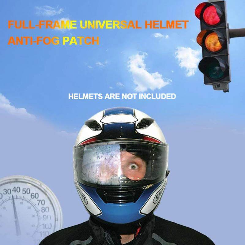 Moto Accessories Helmet Insert Film Anti Fog Rainproof Motorcycle Universal Patch Ultra Clear Full-frame Sterilizing UV Rays FTH Store
