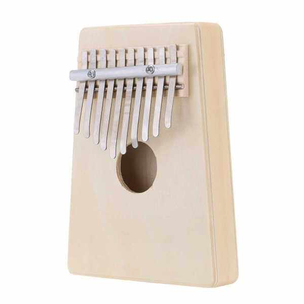 10 Key Mbira Finger Thumb Music Piano Hollow Pine Education Toy Musical Instrument for Music Lover and Beginner Malaysia