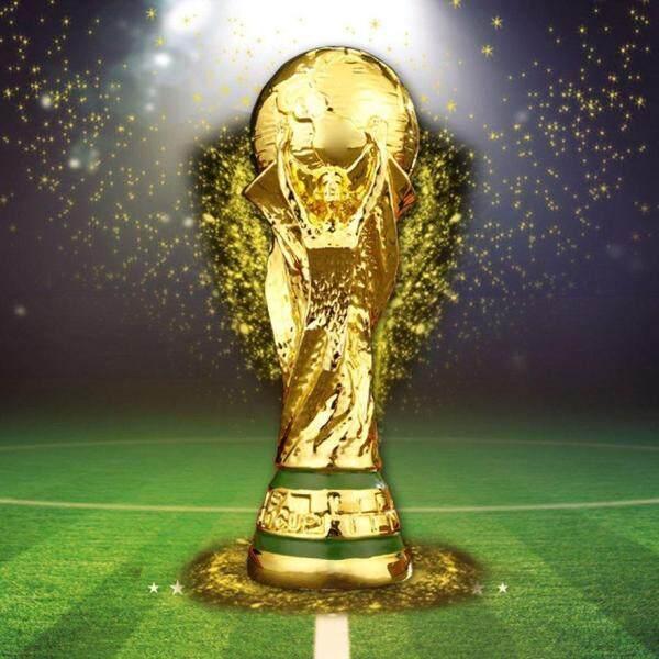 ANEXT World Cup Football Trophy Resin Replica Trophy Model Soccer Fan Souvenir Gift Singapore
