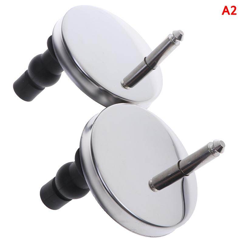 Pinellia flowers 2Pcs Top Fix WC Toilet Seat Hinges Fittings Quick Release Hinge Screw
