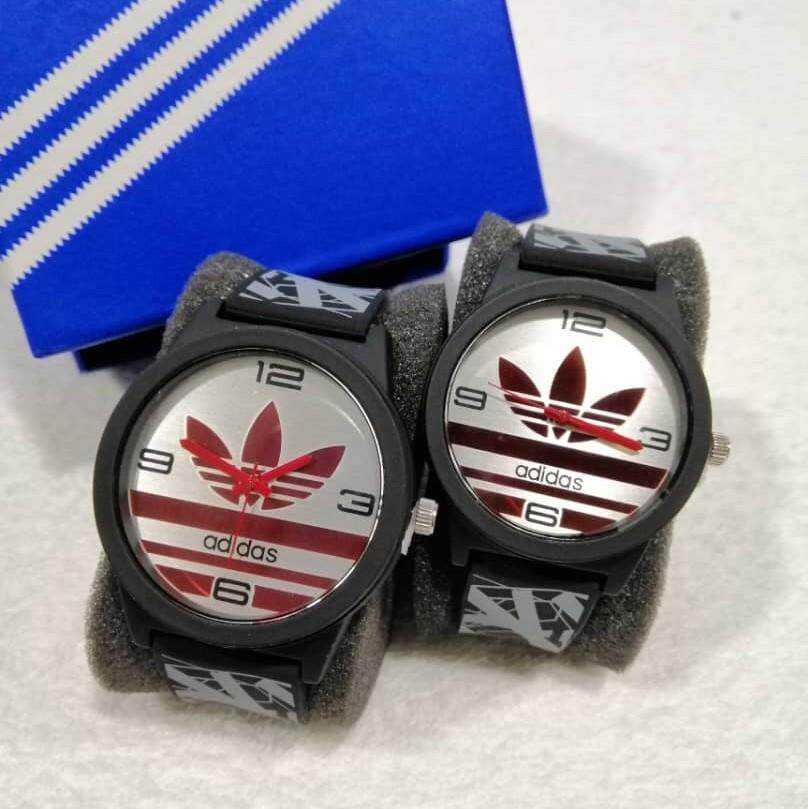 SPECIAL PROMOTION ADIDAS_ RUBBER STRAP ANALOG WATCH FOR COUPLES Malaysia