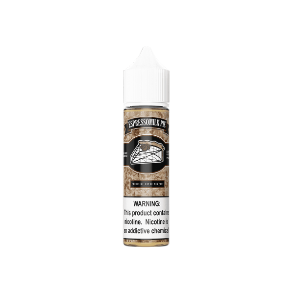 (USA FREEBASE) PRIMITIVE VAPOR CO BERRYMILK PIE | BLUEBERRYMILK PIE | BUTTERMILK PIE | CANNOLI | ESPRESSO CANNOLI | ESPRESSO MILKPIE | SKIPPERMILK PIE | WATSON MILKPIE E-JUICE 60ML Malaysia