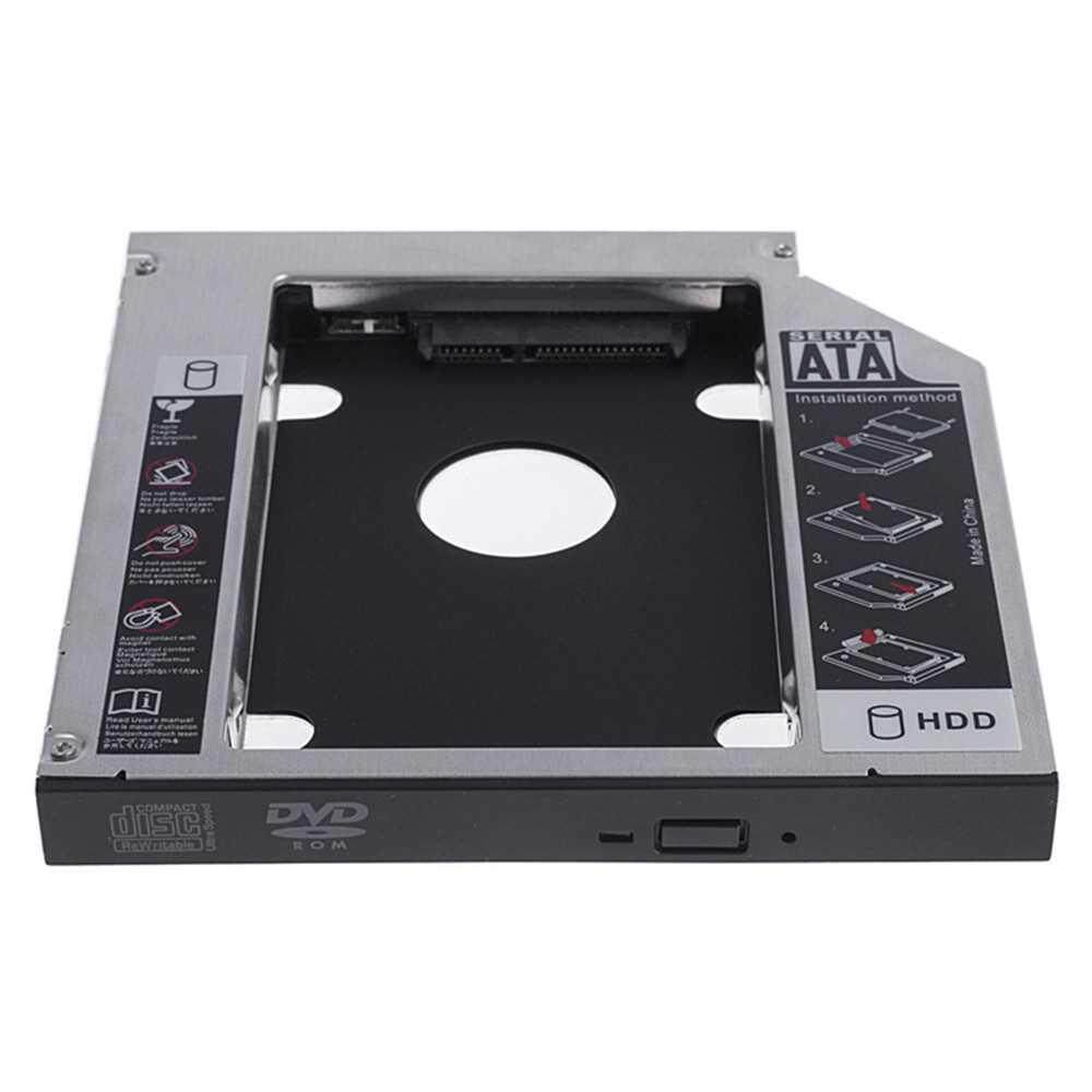 9.5MM SATA Aluminum Hard Drive Caddy for Notebook (Silver)