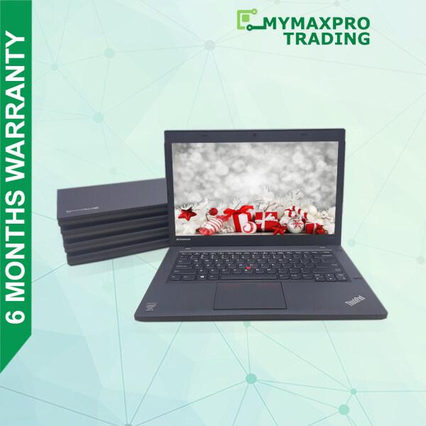 Lenovo ThinkPad T440 i5 4th Gen 4GB or 8GB RAM HDD or SSD Window 10 Office Use Refurbished Malaysia