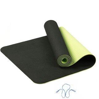 Thảm Yoga TPE 6MM Bao Cổ Tập Gym Pilates Thể Dục Thể Thao Chống Trượt Cho Người Mới Bắt Đầu thumbnail