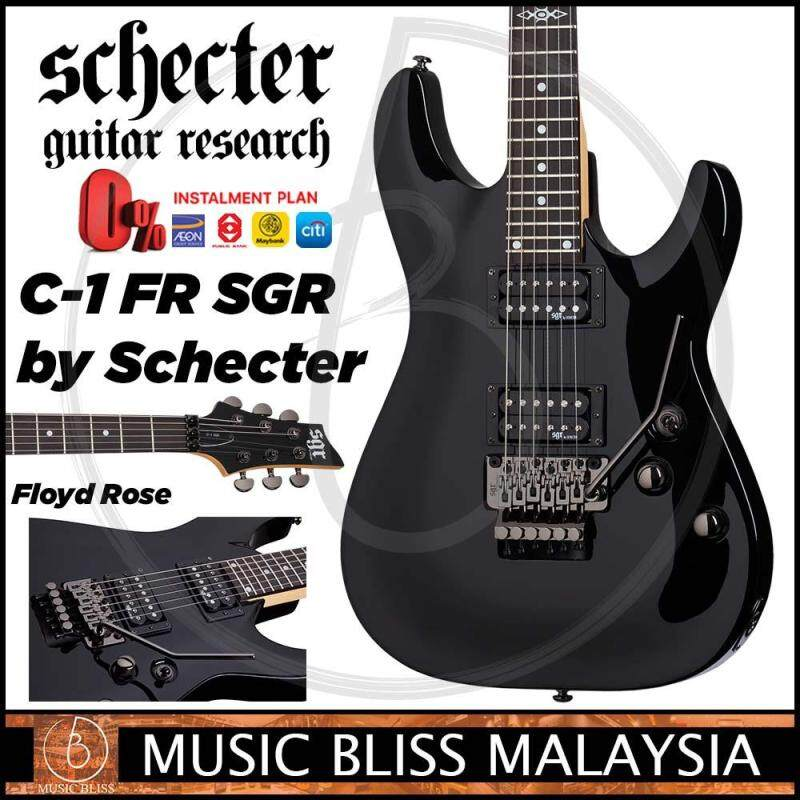 Schecter SGR C-1 with Floyd Rose - Black (C1) Malaysia
