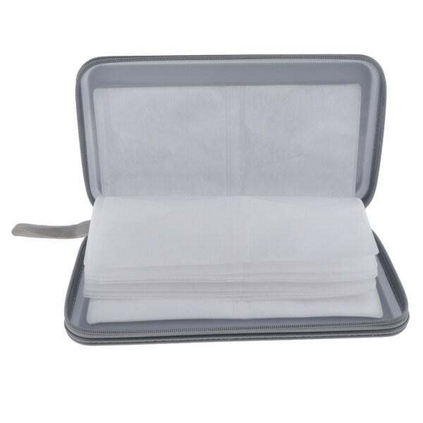 Bảng giá Ví Đựng Đĩa CD Lacooppia 80, DVD Trường Hợp Lưu Trữ Chủ Bag Thực Hiện Bảo Vệ, Nhựa Bạc Phong Vũ