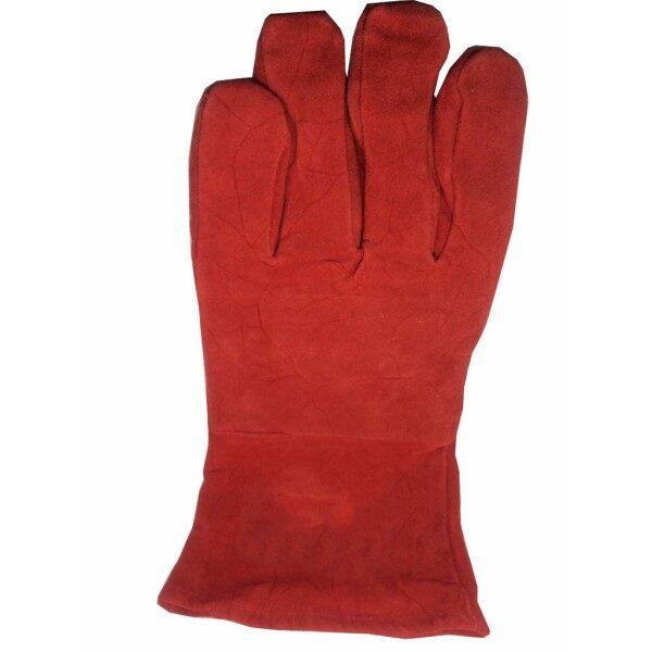 WELDING HAND GLOVE (RED)
