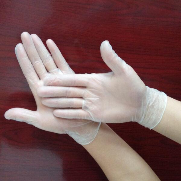 Găng Tay Dùng Một Lần Đóng Hộp KS 100 Găng Tay PVC Dày Trong Suốt