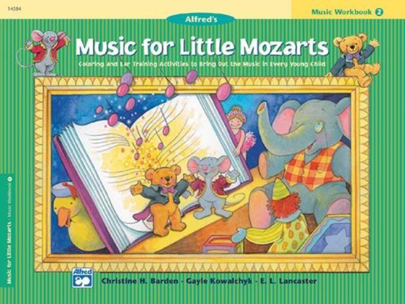 Music for Little Mozarts: Music Workbook 2 Malaysia