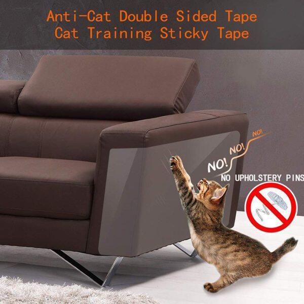 8 Cái/bộ Băng Cào Cho Mèo, Miếng Dán Bền Chống Trầy Xước Ngăn Chặn, Nội Thất Bảo Vệ Ghế Sofa Thảm Trong Suốt Ghế Huấn Luyện Thú Cưng