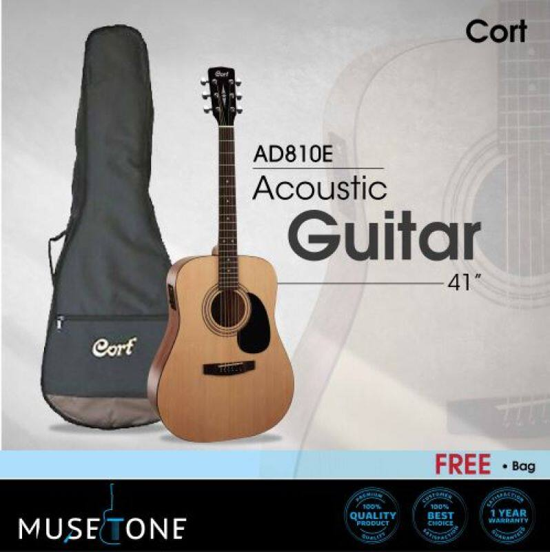 Cort AD810E OP Standard Series Beginner / Entry-level Acoustic Guitar with EQ Malaysia