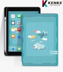 Ốp iPad KENKE Ốp Bảo Vệ Họa Tiết Sơn Thích Hợp Cho: IPadgen7 Ốp Bảo Vệ IPad10.2 IPad2019 Air3 (10.5 Inch) Thích Hợp Cho Ipmini5 Chất Liệu TPU/Silicone Vỏ Bảo Vệ Thông Minh Khay Đựng Bút Tích Hợp Chống Rơi Và Chống Bụi.