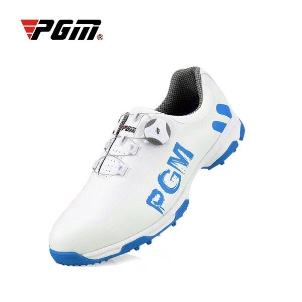 Giày Chơi Golf PGM Cho Nam Và Nam Giày Thể Thao Giày Sneaker Chơi Gôn Giày Dây Giày Xoay Tự Động Chống Trượt Chống Thấm Nước Thoáng Khí