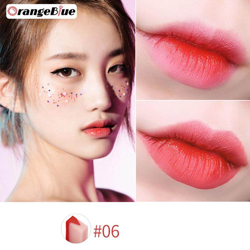 OBlue Son nữ Trang Điểm Batom Gradient Hai màu sắc son môi Son Môi Lâu trôi nhiều Dưỡng tốt nhất