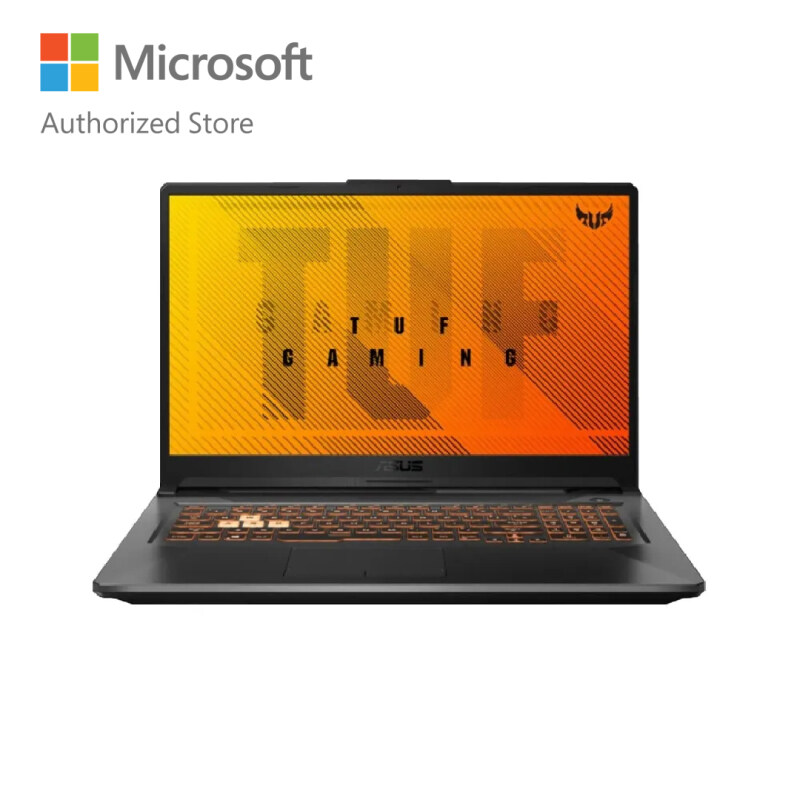 ASUS TUF Gaming A17 FA706I-IH7079T-1-W10 Laptop 17.3 Inch (R7-4800H/8GB/512GB/GTX1650Ti 4GB) Malaysia