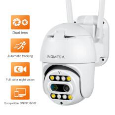 INQMEGA Camera IP Ống Kính Kép, Camera Wifi PTZ CCTV, NVR ONVIF Camera Ngoài Trời 1080P Không Dây Phiên Bản Đầy Đủ Màu Sắc Ban Đêm